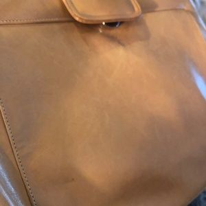 bally Bags - Bally light tan leather vintage cross body bag